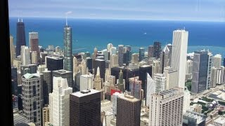 シカゴに行った際に立ち寄ったウィリスタワー(高さ527m)の空中展望台...