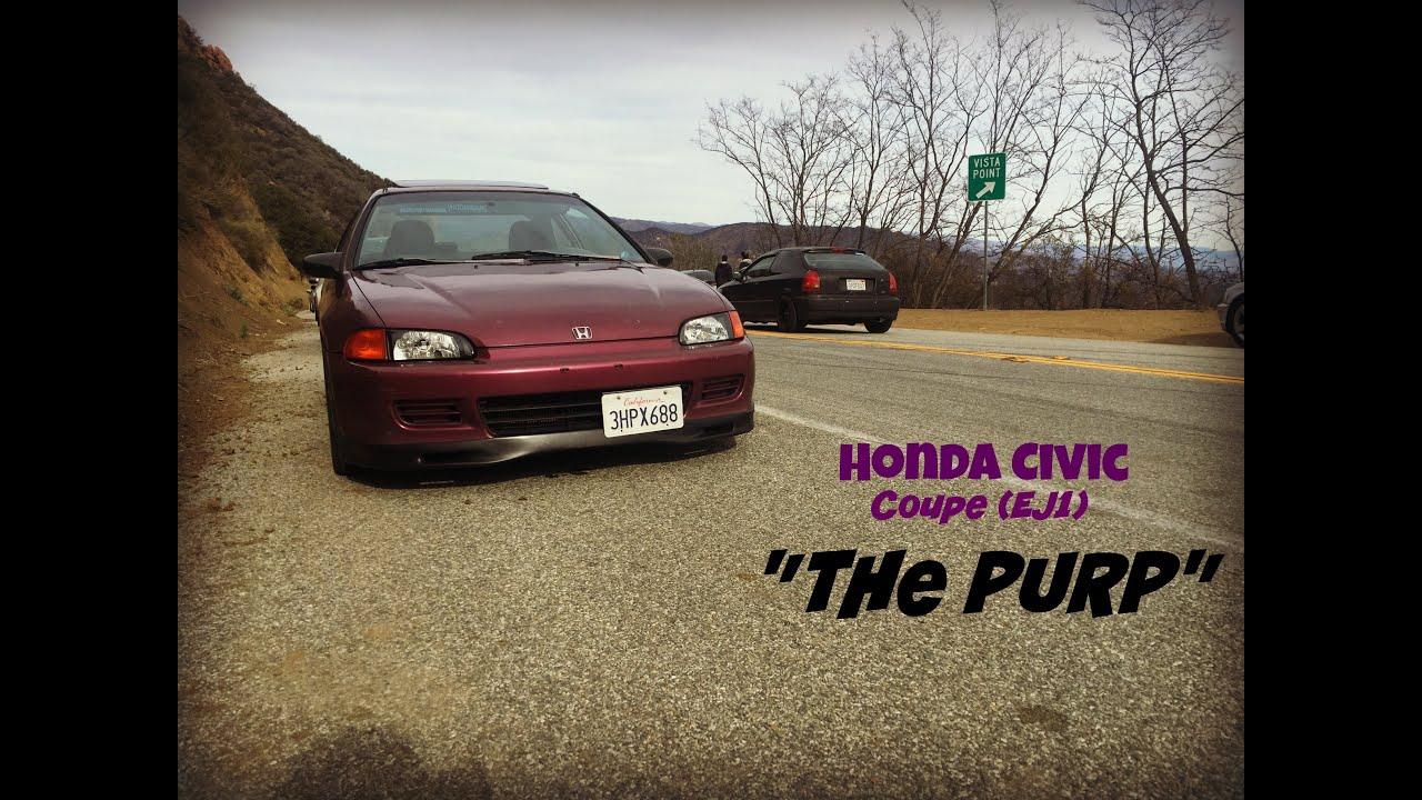 My Honda Civic Coupe (EJ1) - YouTube