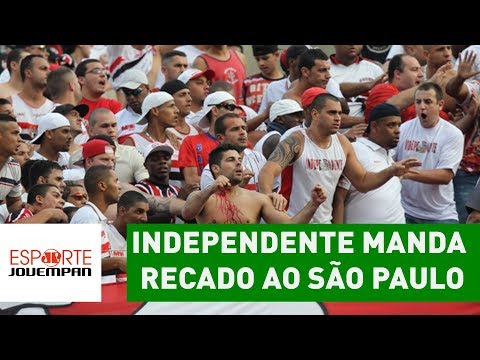 Independente manda RECADO ao São Paulo após 2x0 do Palmeiras