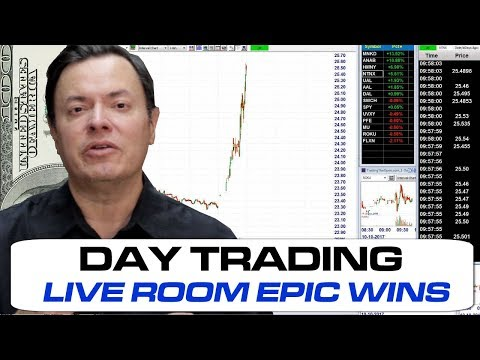 LIVE TradingTheOpen.com Day Trading Stocks Room 10Oct2017