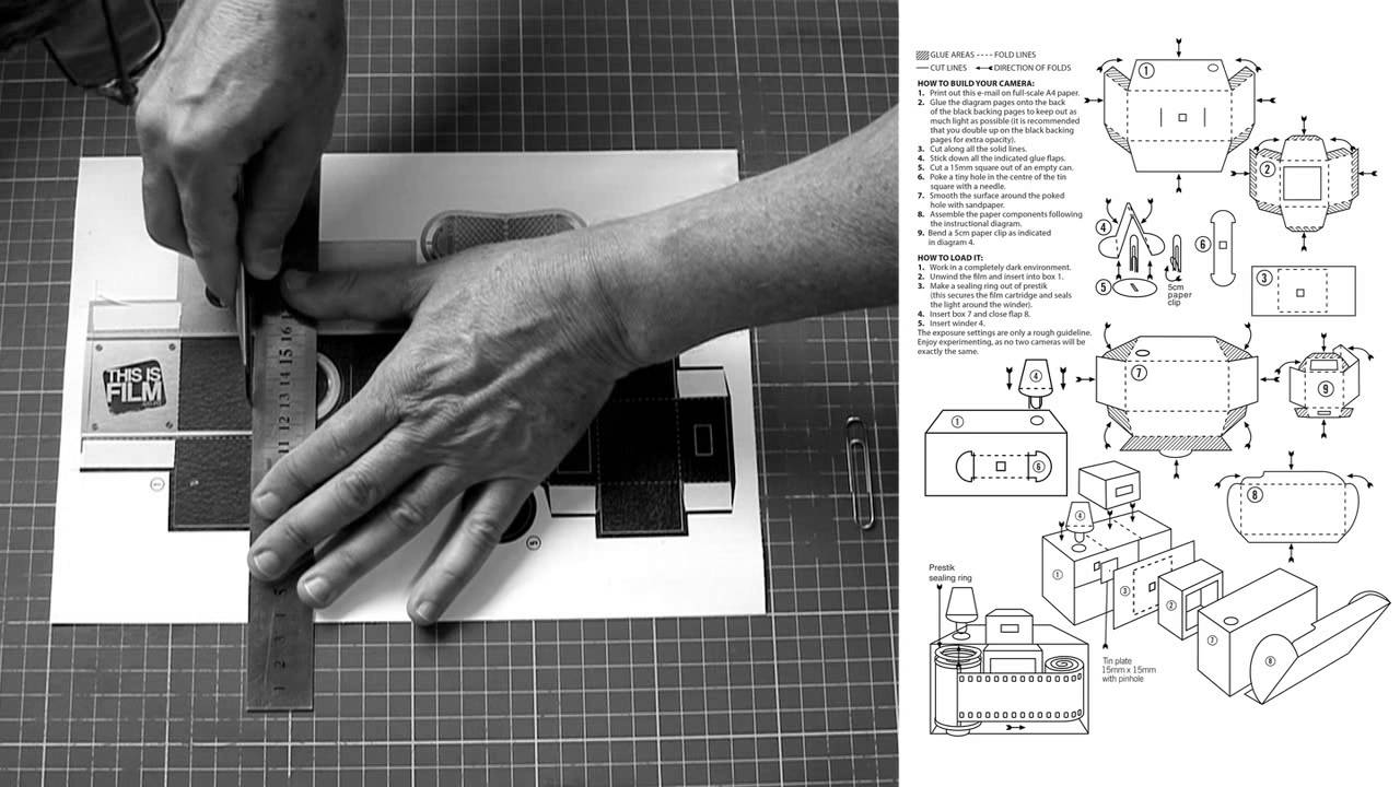 Build Your Own Diy 35mm Pinhole Camera Youtube