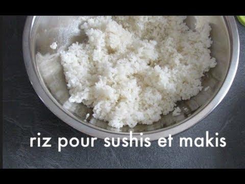 Comment Préparer  Du Riz Pour Sushis Et Makis