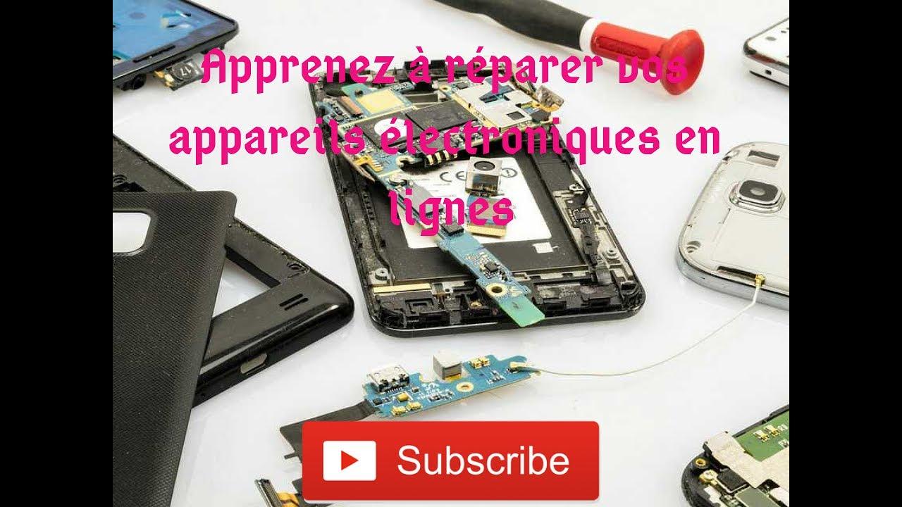 Site internet pour apprendre à réparer vos appareils électroniques (website to repair your phones..)