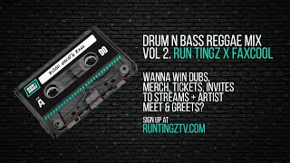DRUM AND BASS MIX - REGGAE MIX {VOL.2} (by faXcooL)