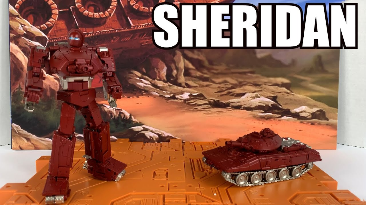 Fans Toys FT-41 Sheridan (Masterpiece Warpath) Unboxing and Review By Enewtabie