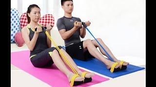 Hướng dẫn tập bụng, bắp tay trước, xô đối với dụng cụ đa năng Tummy