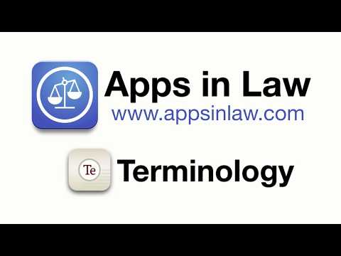 Terminology – Dictionary, Thesaurus, Research Tool, and More… – Apps