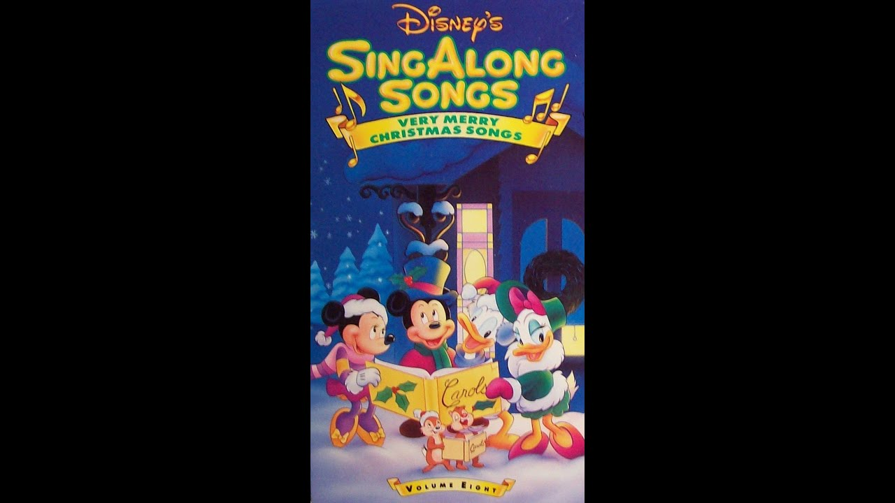 Opening & Closing To Disney's Sing-Along Songs:Very Merry ...