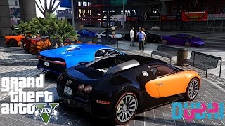 GTA V | DUBAI EXOTIC CARS MEET IN GTA 5 ✪
