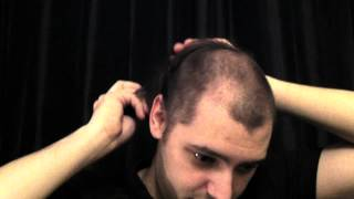 Shaving off my hair for the first time