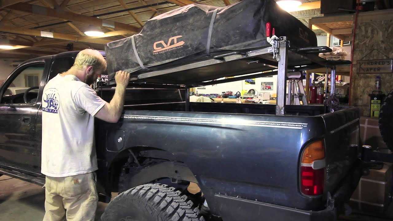 FrankenFab Bed Rack - YouTube