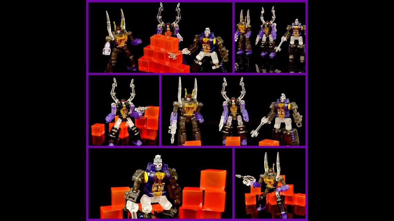 NewAge Toys Clear Insecticons By Deluxe Baldwin