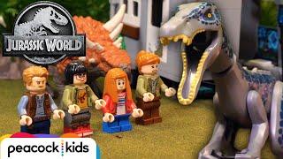 Dilophosaurus Rampage! | JURASSIC WORLD