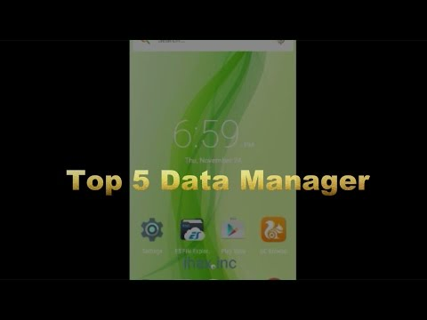 Top 5 Free Data Manager For Your Smartphone