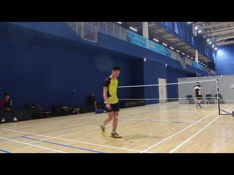 Student Sport Ireland Badminton League Quarter Final | Men's Singles 3rd Set