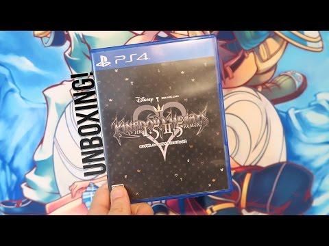 Kingdom Hearts 1.5+2.5 Unboxing PS4