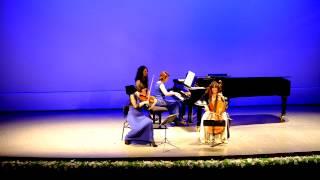 Schostakowitsch Trio Op 67 No  2 Trio Largo-Allegretto