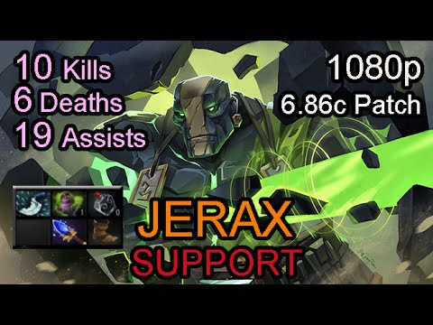 Jerax Earth Spirit 686 Patch Ranked Full Game YouTube