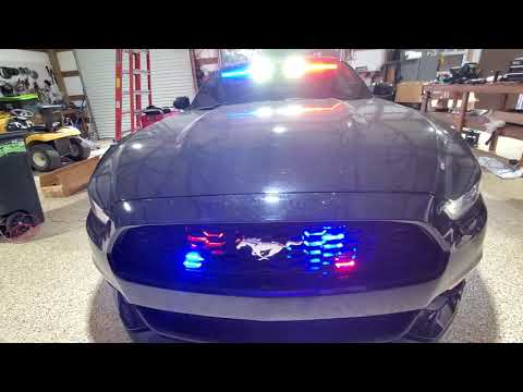 ILMODS - 2015 Ford Mustang With Feniex Industries Emergency Lights & Siren OffDuty Undercover Police