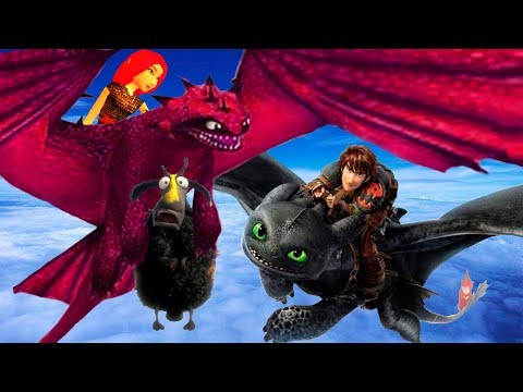 💥ШКОЛА ДРАКОНОВ💥 Как приручить дракона💥 How to train your dragon / SCHOOL OF DRAGONS #8