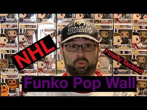 NHL Funko Pop Wall Finally Tackled!