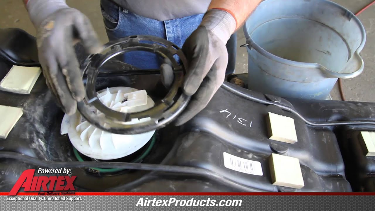 Fuel Filter How To Install Fuel Pump Assembly E7219m In A 2007 2011