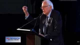 Bernie Sanders at the BET 2015 Presidential Justice Forum (11/21/15)