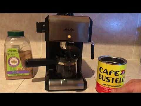 How to use Mr Coffee steam Espresso & Cappuccino maker