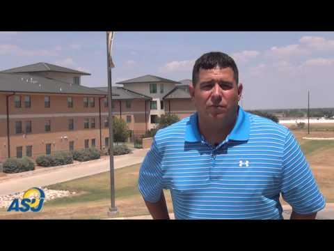 """Why I Coach""  ||  Gary Salgado, Angelo State football assistant coach"