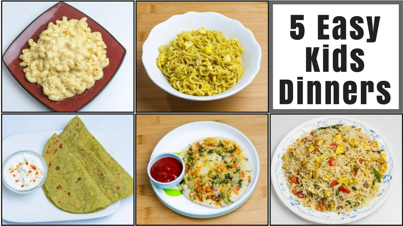 5 Dinner Recipes For 2 Kids Toddlers Kids Lunch Box Recipes Part 1