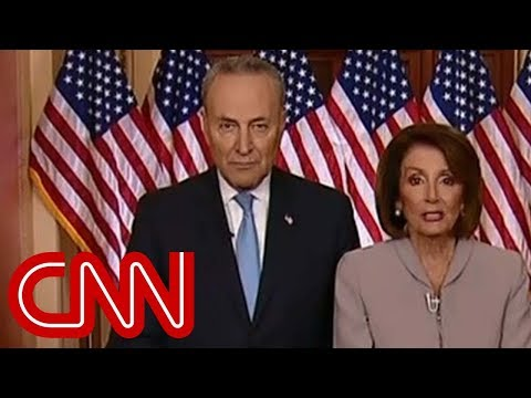 Nancy Pelosi, Chuck Schumer respond to Trump's speech