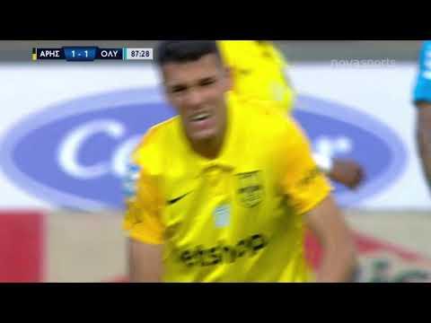 Aris Olympiakos Goals And Highlights