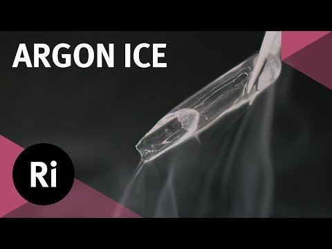 Tales from the Prep Room: Argon Ice