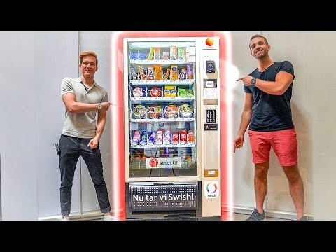 Kan vi äta upp ALLT i en varuautomat??