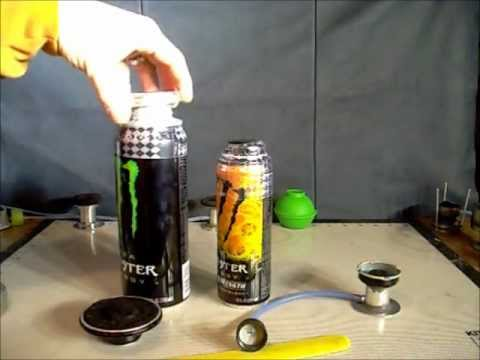 Monster energy alcohol stove