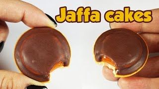 polymer clay Jaffa Cakes TUTORIAL