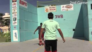 3 Wall Handball ( Samzon vs Juan S. ) Finals WPH World Championships Las Vegas, NV 2015