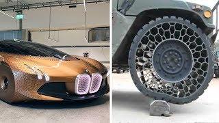 Самые НЕВЕРОЯТНЫЕ автомобильные технологии будущего, которые ИЗМЕНЯТ МИР машиностроения