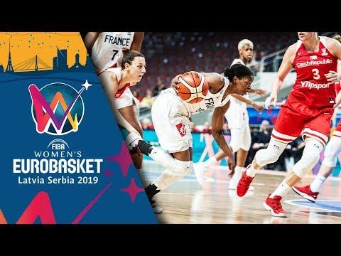 France v Czech Republic - Highlights - FIBA EuroBasket Women 2019