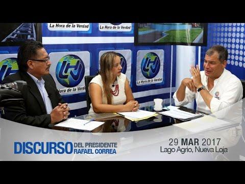 Entrevista con radio Seducción y Lago Sistema TV 29/03/2017