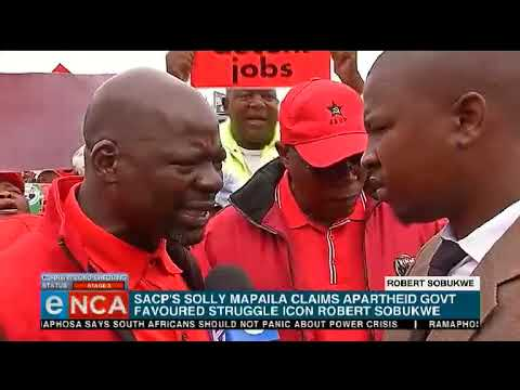 SACP say Robert Sobukwe received preferential treatment in prison