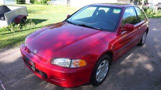 1995 Honda Civic Si walk around tour, engine start up etc...(1 owner, all original!)