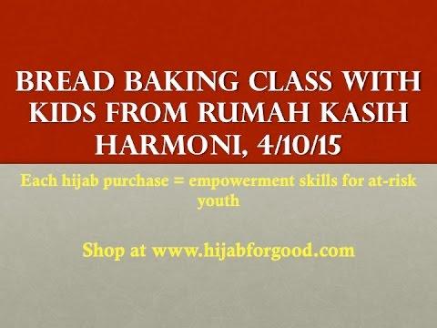 Bread Baking class with Kids from Rumah Kasih Harmoni