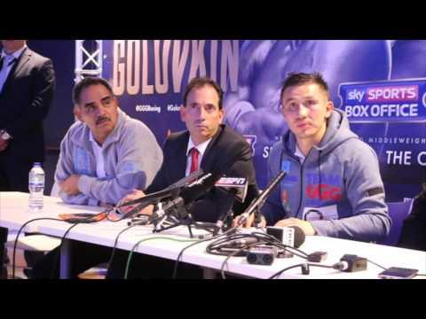 GENNADY GOLOVKIN V KELL BROOK - FULL & UNCUT POST FIGHT PRESS CONFERENCE / GGG-BROOK