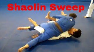 Theodoro variation of shaolin sweep – Emerson Souza – Long Island Brazilian Jiu Jitsu and MMA