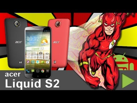 Acer Liquid S2 Flash unboxing - android tv