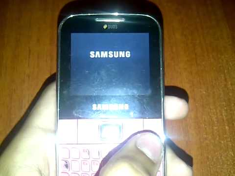 Samsung c3222 how to flash