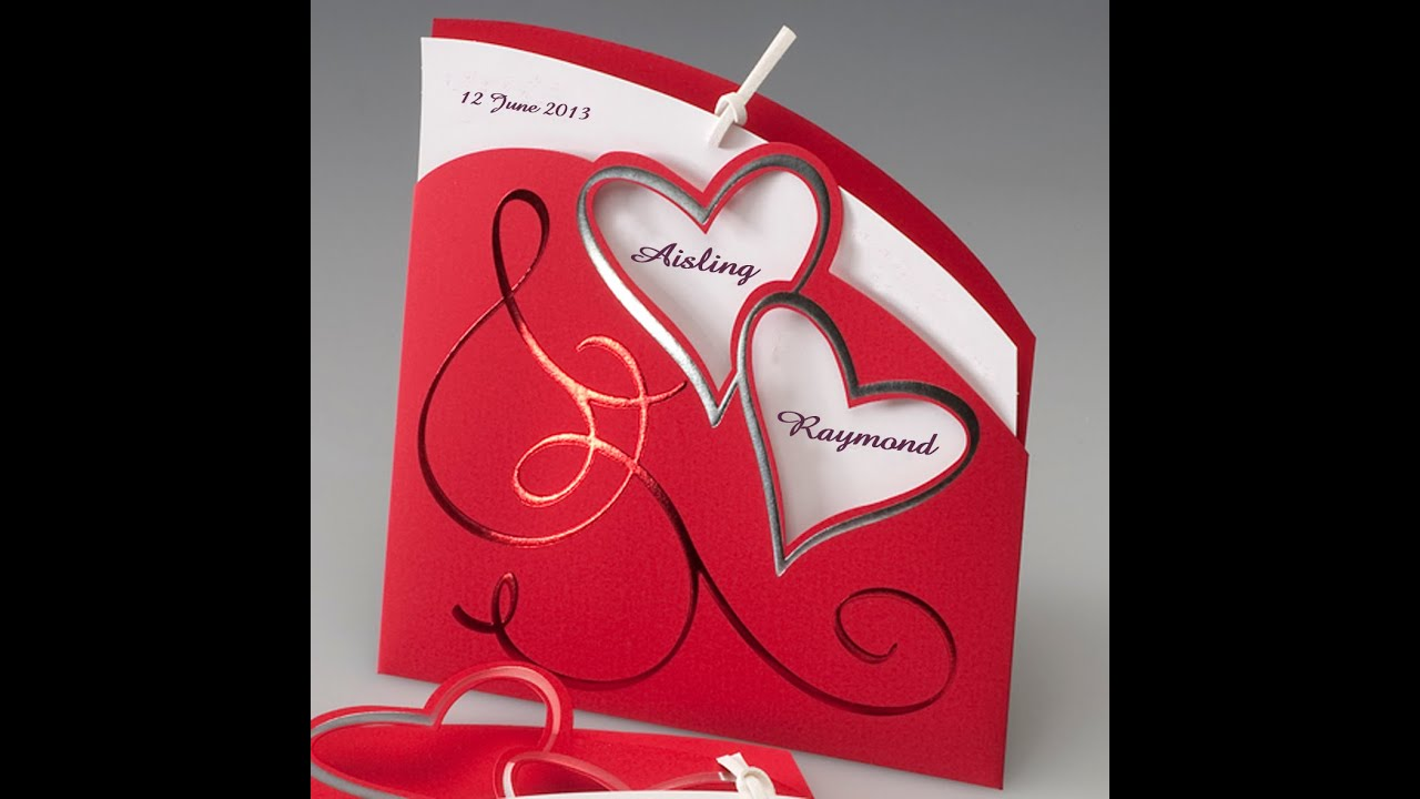 More than 150 Wedding Cards Designs Ideas YouTube – Innovative Marriage Invitation Cards
