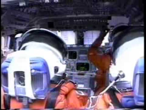 space shuttle landing from inside - photo #29