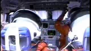 Space Shuttle Columbia Launch Cockpit View